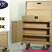 Cox Mini Bar Carts - Minibar Restocking Room Service Trolleys