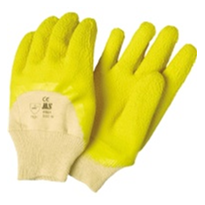 Latex Coated Glass Gripper Gloves