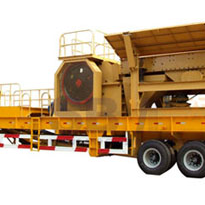 Jaw Crusher, Portable Plant for Fully Mobile Crushing