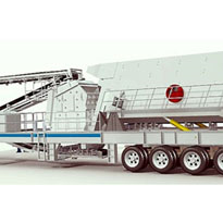 Impact Crusher, Portable for Fully Mobile Crushing