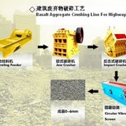 Construction Waste Crushing Technics