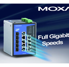Moxa Gigabit Ethernet Switch Industrial EDS-G509