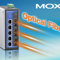 Moxa Industrial Ethernet Switch for Wind Farm Networks EDS-408A