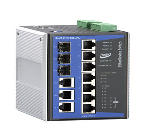 Moxa Industrial PoE  Ethernet Switch  EDS-P510 with IEEE 802.3af  PoE Ports