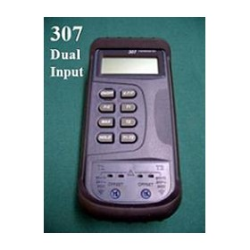 Dual Input Digital Thermometer DM-307TC | Type K