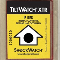 ShockWatch Tilt Sensors - TiltWatch XTR