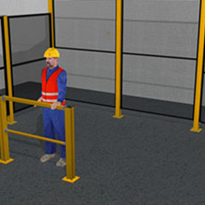 Modular Perimeter Safety Fencing for Guarding of Industrial Hazards - Overview