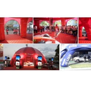 Portable Inflatable Buildings | Air-Frame | Superdome