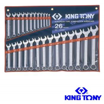Hand Tools | King Tony Combination 26 Pc Ring Open End Spanner Set