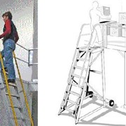 Height Access Ladders | Mezzalad & Stockmaster