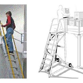 Height Access Ladders | Mezzalad &