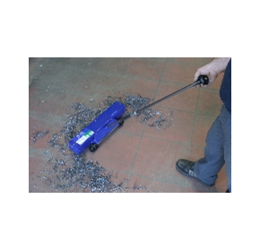 SteelAway Magnetic Floorsweeper (or Magnetic Broom) for Safety