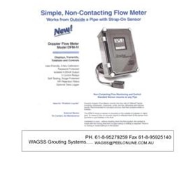 WAGSS Doppler Fluid Monitor