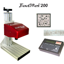 BenchMark® 200. Bench Mounted Electric Pinstamping System