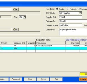 Software Module | Requisition Management