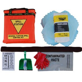 Compact Economical Vehicle Spill Kit