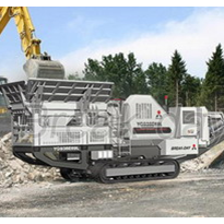 Mobile Crushing Plant---Caterpillar Type