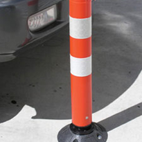 Two Piece Knock Down Bollards