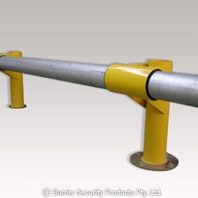 Shock Absorbing Guard Rail