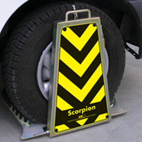 Scorpion Wheel Clamp