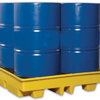 4-Drum Spill Containment and Storage Pallet