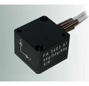 Triaxial Accelerometer - FA3403 from Bestech Australia
