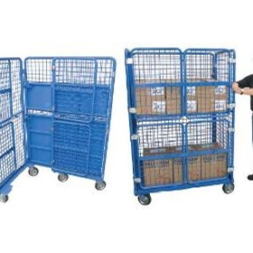 Goods Trolley Cage