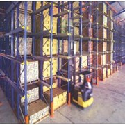 SSI Schaefer Drive In Pallet Racking