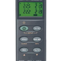 Digital Thermometer - Hand Held (Type K 4 channels Data Logging)