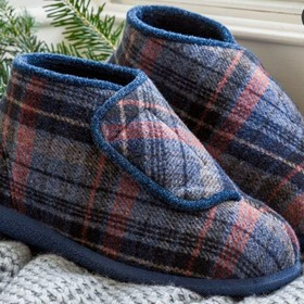 Robbie Extra Wide Slipper Bootie For Men