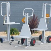 Versatile, Multiuse Lift Platform Trolleys