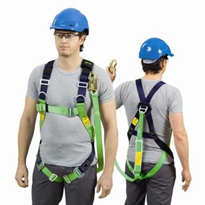 Fall Arrest Harness with Attached Lanyard - NL 210