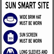 Sun Smart Safety Signs - NS 150