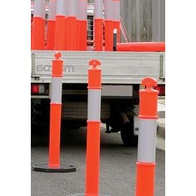 Reflective T Top Bollards & Bases - NT 202