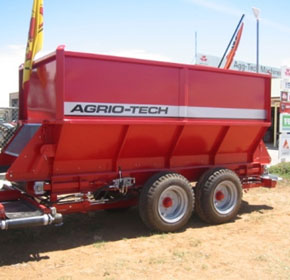 NEW AGRIOTECH 500 SB PRECISION SPREADER