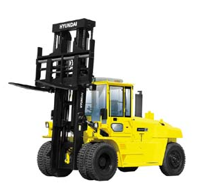 Large Diesel Forklifts from Hyundai