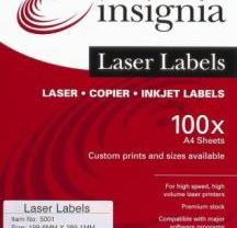 Laser Labels | insignia