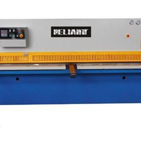 Reliantt CNC Controlled Hydraulic Swing Beam Shear with CE