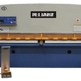 CNC Hydraulic Guillotine Shearing Machine -- CE machinery
