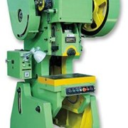 J23 Series Open Type Inclinable Power Press
