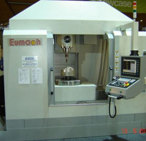 Eumach High Speed 5 Axis Machining Centres