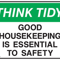 Housekeeping Signs - Signet