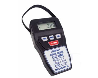 Digital Force Gauge | Compact Force Gauge | Model No. CFG+ - Mecmesin
