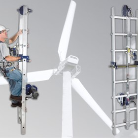 Lad-Saf Powered Climb Assist System | Height Safety