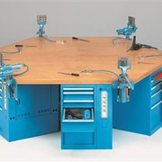 FAMI Industrial Workbenches - Hexagonal Workbench