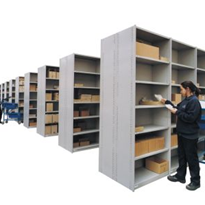 Rolled Post Shelving