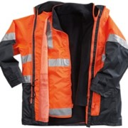4 in 1 Hi Vis Breathable Jacket with Vest - NC 620