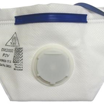 P2 Valved Disposable Flat Fold Respirator - NK 216