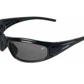 Matrix Black Frame Safety Glasses inc Clear and Smoke AF/HC Lens - NC 140 SC-BL