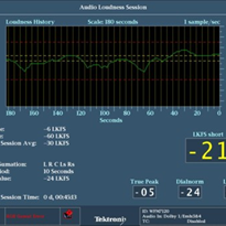 Audio Loudness Monitoring - Tektronix Turns Up Audio Loudness Measurement Capabilities